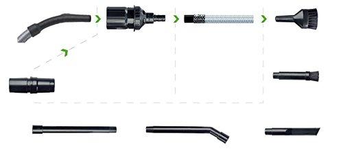 Original Markenware Menalux D18N Zubehör Kit 8 teilig, Mikrodüsen Set, kompatibel mit allen Staubsaugertypen mit 3235 mm