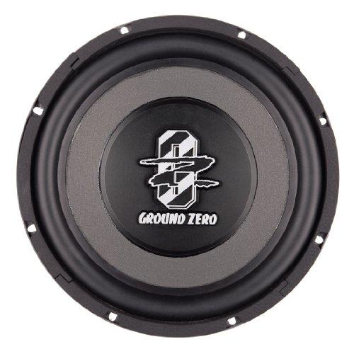 ground zero gztw 25tx 25 cm subwoofer 300 watt rms. Black Bedroom Furniture Sets. Home Design Ideas