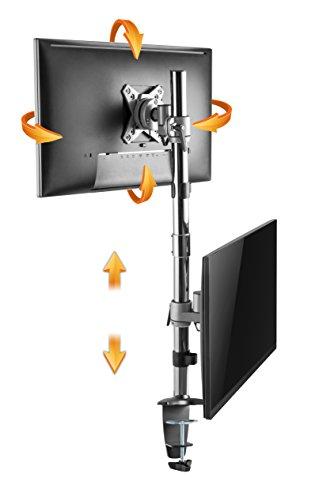 Ricoo Vertikal Dual Monitor Tischhalterung Ts3511 Für 2 Monitore